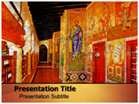Greek Paintings PowerPoint Templates