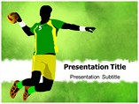 Handball PowerPoint Templates