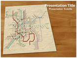 Rail Network PowerPoint Templates