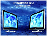 Data Communication Powerpoint Templates