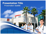Hospital Management System Powerpoint Templates