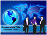 Global Business Strategy PowerPoint Theme