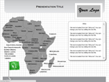 Map for Powerpoint Presentation