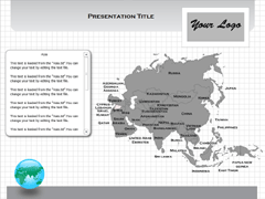 Asia (Windows) PowerPoint map