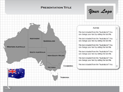 Australia (Windows) powerpoint map