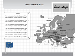 Europe (Windows) PowerPoint map