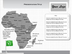 Africa (MAC) PowerPoint map