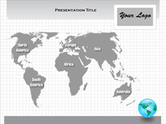 World (MAC) PowerPoint map