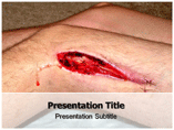 Abrasion Geology Powerpoint Template