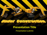 PPT Templates for Under Construction