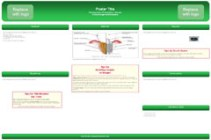 Poster Powerpoint Templates - Dental Implants