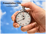 Time In Hand PowerPoint Theme