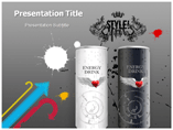 Energy Drink Powerpoint Templates