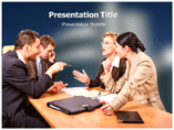 Business Meeting Matter PowerPoint Slides