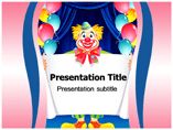 Clown Costumes Powerpoint Templates