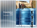 Corporate Ladder PowerPoint Slides