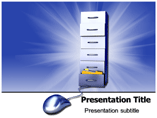 Digital Archive Powerpoint Templates