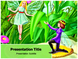 Fairy Tales Online Powerpoint Templates