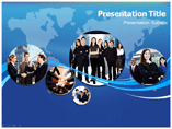 Global Business Goal Template PowerPoint
