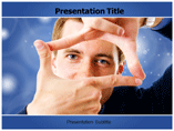 Hand Frame Powerpoint Templates