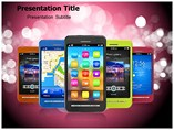 Smart Phones Powerpoint Templates