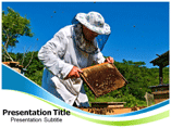 Beekeeping powerpoint template