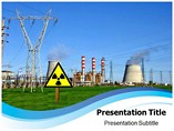 Nuclear reactor Types powerpoint template