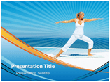 Power Yoga Powerpoint Templates