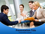 Business Idea Center PowerPoint Backgrounds