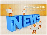 News Powerpoint Templates