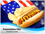 American Food Culture Powerpoint Templates