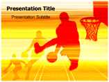 Basketball Position Powerpoint Templates