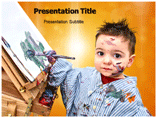 Child Art Powerpoint Templates