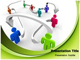 People Connectivity Powerpoint Templates