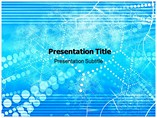 Networking Abstract Powerpoint Templates