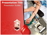 Blood Donor PowerPoint Theme
