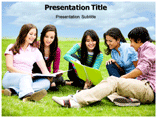 College Life powerpoint template