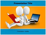 Old vs new technology powerpoint template