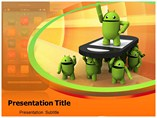Android Apps powerpoint template