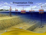 Oil Mining Countries Powerpoint Templates  - Oil mining