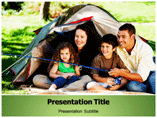 Summer Camp Festival PowerPoint Template