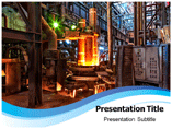 Electric Arc Furnance powerpoint template