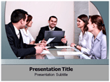 Group Discussion powerpoint template