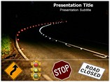 Road Closing PowerPoint Background