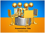 Work Group a Powerpoint  Template