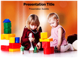 Child Development Games powerpoint template