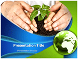 Environmental education powerpoint template
