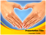Hands Heart PowerPoint Templates