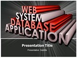 Web Application System PowerPoint Templates