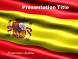 Powerpoint Background - Flag of Spain